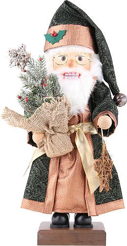 Nussknacker Weihnachtsmann mit Tannenbaum, limitiert 48,5 cm