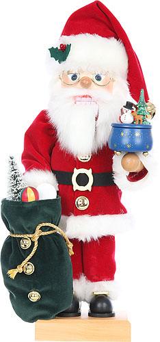 Nussknacker Weihnachtsmann mit Spieldose, limitiert 47,5 cm