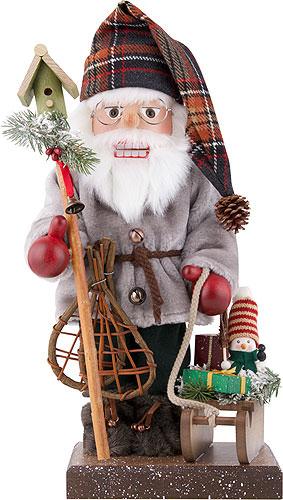 Nussknacker Weihnachtsmann mit Schlitten, limitiert 46,0 cm