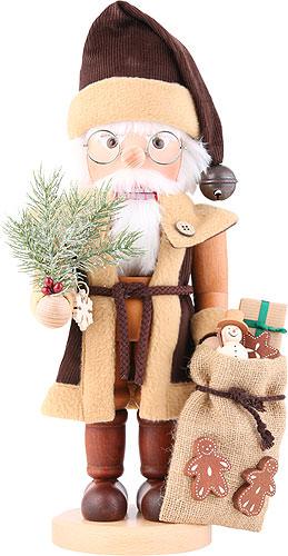 Nussknacker Weihnachtsmann natur 40,0 cm