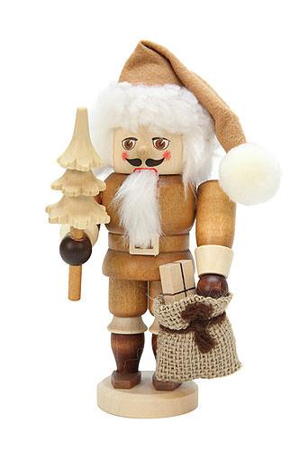 Nussknacker Weihnachtsmann natur 16,0 cm
