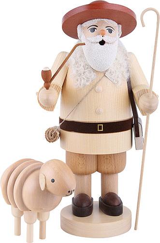 Räuchermännchen Schäfer mit Schaf 34 cm