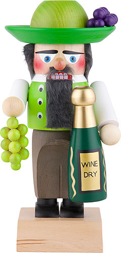 Nussknacker Weinverkäufer 30 cm