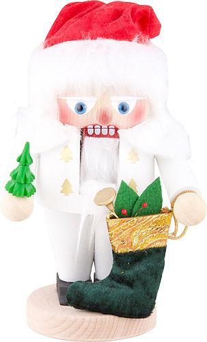 Nussknacker White Santa 25 cm