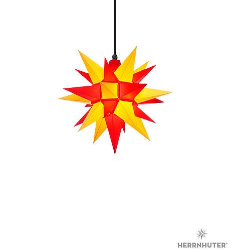 herrnhuter stern a4 gelb rot kunststoff 40 cm von herrnhuter sterne. Black Bedroom Furniture Sets. Home Design Ideas