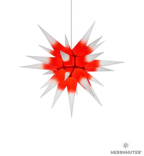 herrnhuter stern i6 weiss roter kern papier 60 cm von. Black Bedroom Furniture Sets. Home Design Ideas