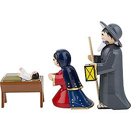 Ulmik Bunte Krippenfiguren Die Heilige Familie