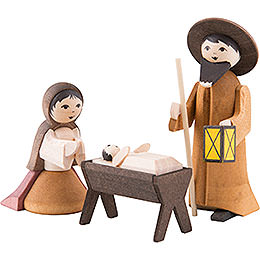 Ulmik Krippenfiguren Die Heilige Familie